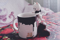 coffee (lesnaragillespie) Tags: bjd cat doll