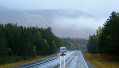 Driving in the Rain (Stanley Zimny (Thank You for 40 Million views)) Tags: drive car road rain cloud fog mist trees light nh