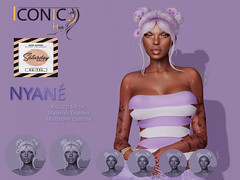 NYANE_BANNER_SAT (Neveah Niu /The ICONIC Owner) Tags: nyane saturday sale 75ls neveahniu mainstore discount secondlife 3d hair rigged multistyler