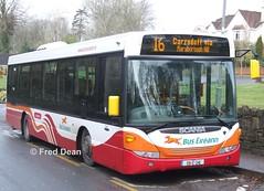 Bus Eireann SL9 (09C241). (Fred Dean Jnr) Tags: buseireannroute216 scania buseireann omnilink sl9 09c241 clarkeshillcork february2009 cork