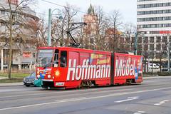 FFO_217_201901 (Tram Photos) Tags: ckd tatra kt4d frankfurt oder tram tramway strasenbahn svf vollwerbung ganzreklame