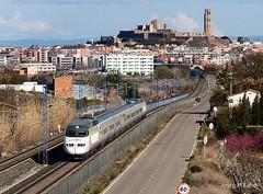 201-100 Lleida (Josep M Farré) Tags: ave renfe lleida barcelona zaragoza