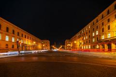 Ludwigstraße München (Jutta Achrainer) Tags: achrainerjutta fe1224mmf4g sonyalpha7riii nacht ludwigstrase weitwinkel münchen
