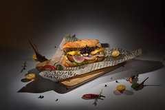 Сэндвич - sandwich (Anton_Letov) Tags: foodphoto nikon strobist lowkey yn560lll