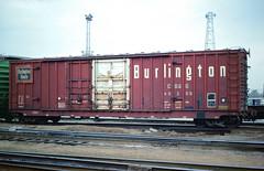 CB&Q Class XM-4B 49208 (Chuck Zeiler54) Tags: cbq class xm4b 49208 burlington railroad boxcar box car freight cicero train chuckzeiler chz