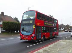 GAL WVL284 - LX59CZA - ELTHAM ROAD - SAT 16TH FEB 2019 (Bexleybus) Tags: goahead go ahead london eltham road se9 south east tfl route 321 wrightbus gemini volvo b9 wvl284 lx59cza