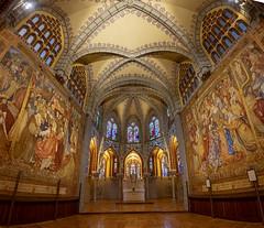 Astorga-Palacio Episcopal-Capilla (dnieper) Tags: palacioepiscopal museodeloscaminos gaudí capilla astorga león spain españa panorámica