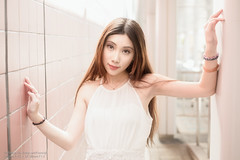 Hody (Francis.Ho) Tags: red hody xt2 fujifilm girl woman female femme lady portrait people beauty pretty lips eyes hair face elegant glamour young sensuality fashion naturallight cute goddess asian chinese daylight sunlight outdoor