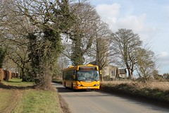 Sanders 314 1310hrs Cromer to North Walsham 190219 (return2layerroad) Tags: sanders cromer northwalsham aldborough albywiththwaite scaniaomnicity yn03uvr norfolk