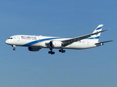 B789 4X-EDB (gulfstreamchaser) Tags: 4xedb boeing 787 9 dreamliner elal egll lhr heathrow