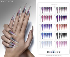 Shiny Shabby | 20th February (Kah Melody | ASCENDANT) Tags: ascendant shiny shabby maitreya belleza slink nails bento polish