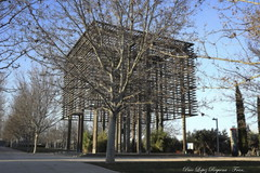 Arquitectura de Madera (lopezrequenapaco) Tags: españa arquitectura madera bosque