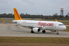 TC-DCB Airbus A320-214 Pegasus Airlines Stansted 12th January 2019 (michael_hibbins) Tags: tcdcb airbus a320214 pegasus airlines stansted 12th january 2019 aircraft airliner airline passanger passenger commercial civil ceo aeroplane aerospace aviation aero airfields airport airplane airports plane planes jet jets