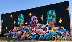 What a Beautiful World by Paul Johnson (wiredforlego) Tags: graffiti mural streetart urbanart aerosolart publicart detroit michigan dtw mitm easternmarket pauljohnson