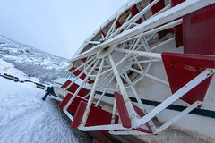_ROS5059-Edit.jpg (Roshine Photography) Tags: transportation yukonriver paddlewheeler yukonquest boats winter yukonterritory klondikespirit dawsoncity yukon canada ca