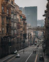 Via Venti (FButzi) Tags: genova genoa liguria italy italia viaxx viaventi viaxxsettembre buildings ponte monumentale
