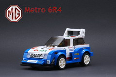 1 Front 3_4 Left (Marc 'Edge' R.unde) Tags: lego speed champions mg metro 6r4 rally group b