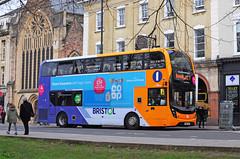 SN65 ZCU. (curly42) Tags: sn65zcu first33960 dennistrident2 alexanderdennisenviro400mmc bus firstbristol first 33960 transport publictransport