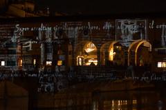 DSC09395 (Fulvio aXu) Tags: florence firenze luci lights ponte vecchio old bridge christma natale feste holiday arno river tuscany toscana