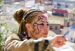 DSC_0128 (miguelmoll387) Tags: rostro cara portrait woman mujer girl makeup maquillaje carnaval nikon tamron