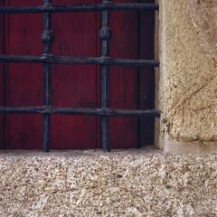 The window (lebre.jaime) Tags: portugal beira covilhã ourladyofthecalvary chapel entrance window hasselblad 503cx distagon cf4050fle epson v600 affinity affinityphoto analogic film120 kodak ektar100 mf mediumformat 6x6 squareformat