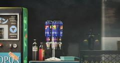 No59 Vodka Blue preview (Caroline Planer) Tags: vodka drink bottle glass shot no59 dispenser alcohol liquor