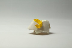 Yoshimasa Tsuruta. Sheep (kastudio) Tags: yoshimasa tsuruta sheep origami art paper