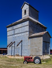 Farm Equipment (Kool Cats Photography over 11 Million Views) Tags: farming tractor oklahoma outdoor landscape architecture grass barn