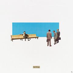 tk (woodcum) Tags: king people man sitting bench minimal minimalistic surreal retro vintage collage grain word cutout