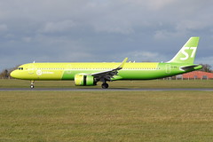VQ-BDU A321neo S7 Airlines (eigjb) Tags: dublin airport eidw ireland international collinstown jet transport plane spotting aircraft airplane aeroplane aviation 2019 vqbdu s7 airlines airbus a21n sbi887 moscow russian a321271n neo a321