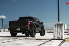 ANRKY Wheels - Ford F150 Raptor - AN36 SeriesTHREE (anrkywheels) Tags: anrky anrkywheels an36 seriesthree series3 s3 ford raptor svt fordperformance pick up performance lifted offroad wheels forged venomrex hre custom led lights parking deck mall crawler