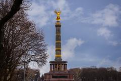 Berliner Siegessäule (Jutta Achrainer) Tags: achrainerjutta berlin fe24105mmf4goss sonyalpha7riii berlinersiegessäule himmel hobbyfotografen