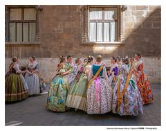 Falleras (Ignacio Ferre) Tags: españa spain valencia fiesta beauty belleza art arte lumix panasonic falles fallas falleras girls chicas mujeres