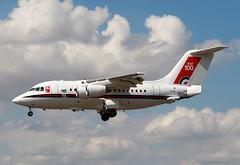 1984 BAe 146 CC.2 ZE700 - Royal Air Force - RIAT 2018 - RAF Fairford (anorakin) Tags: 1984 bae 146 cc2 ze700 royalairforce riat 2018 raf fairford