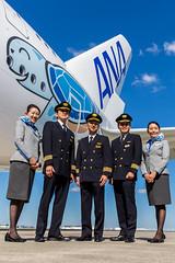 ANA  A380 Lani's   Crew (Rami Khanna-Prade) Tags: anacouchii couchii lani hawaii turtle flyana ana ja381a allnipponairways 全日本空輸 airbus380 全日空 flyinghonu planespotting anaa380 aviation airbuslovers aviationlovers japan a388 a380 ホヌ初号機 エアバス フライングホヌ avgeek tls lfbo crew