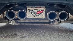 Corvette (Michael Koole - Vision Three Images) Tags: michaelkoole nikon d750 nikkor 50mmf14d ontheground chevrolet chevy corvette exhaustpipes tailpipes grandrapids michigan
