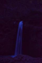 Havasu Pai Falls Night (Long Exposure Art (L~EX~A)) Tags: havasupai arizona havasupaifalls nightphotography travel havasupaireservation tamron18270 tamron nikon nikond5300 nightscapes waterfalls