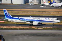 ANA Airbus A321-272N JA133A (Mark Harris photography) Tags: spotting hnd haneda tokyo jpn canon 5d
