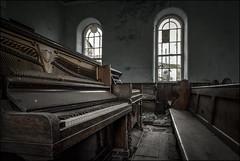 Abandoned Chapel Piano (ducatidave60) Tags: fuji fujifilm fujixe3 fujinonxf1024mmf4 abandoned decay dereliction urbandecay urbex urban