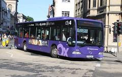 20180702 - 9917 - Go-Ahead - Oxford  Bus Company - Mercedes Citaro - No 843 - Route 4 - High Street & St Aldates - Oxford (Paul A Weston) Tags: goahead oxfordbuscompany oxford mercedescitaro 843 route4 highstreetstaldates