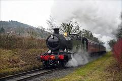 4270: Centurian (Gerald Nicholl) Tags: 4270 gwr greatwestern churchward 280t elr eastlancashire townsendfold bury rawtenstall heywood steam engine locomotive loco train iconsofsteam