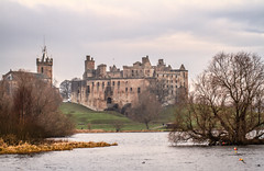 """on a winter morning Linlithgow Palace still dominates its loch with its mass of stone, Linlithgow, West Lothian, Scotland (grumpybaldprof) Tags: """"linlithgowpalace"""" linlithgow """"westlothian"""" scotland """"monarchsofscotland"""" palace castle """"thepeel"""" """"14thcentury"""" """"edwardi """"jamesi"""" """"churchofstmicheal"""" 1414 1302 """"jameshamiltonoffinnart"""" """"maryqueenofscots"""" 1512 fountain """"bonnyprincecharlie"""" 1746 """"dukeofcumberland"""" destroyed """"linlithgowloch"""" loch water lake scottish striking artistic interpretation impressionist stylistic style contrast shadow bright dark black white illuminated mood moody atmosphere atmospheric colour canon 7d """"canon7d"""" 100 100mm f28 macro """"isusm"""" """"canonef100mmf28lmacroisusm"""""""