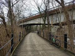 2019 Bike 180: Day 14 - Trollheim Bridge (mcfeelion) Tags: cycling bike bicycle bike180 2019bike180 mountvernontrail arlingtonva
