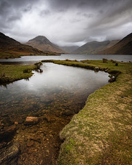 inlet (akh1981) Tags: walking wideangle wastwater water winter nikon nisi nationalpark nature nisifilters nationalheritage nationaltrust nationalheritagesite mountains moody hiking landscape lakedistrict lake rocks cumbria clouds countryside uk unesco outdoors beautiful benro