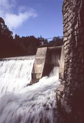 The Fake Falls at Belfountain Conservation Area II (Bill Smith1) Tags: belfountainconservationarea bellieveinfilm billsmithsphotography caledon2008 heyfsc nikkors50f14lens nikkormatftn velvia100