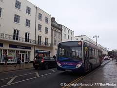 SN63KGF 36946 Stagecoach Midlands (Warwickshire) in Leamington Spa (Nuneaton777 Bus Photos) Tags: stagecoach midlands adl enviro 200 sn63kgf 36946 leamingtonspa
