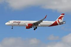 C-FJQL Airbus A321-211 at CYYZ (yyzgvi) Tags: cfjql airbus a321211 air canada rouge lp cyyz yyz toronto pearson mississauga