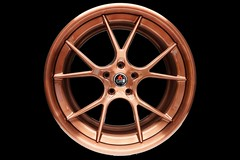 3-piece-project-6gr-10-ten-copper-finish-01 (PROJECT6GR_WHEELS) Tags: project 6gr full forged 3piece 10ten 10 spoke brushed candy copper ford mustang gt350 gt dodge charger challenger wheels wheel rim rims tires