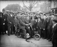 Scooter 1919. (Txemari - Argazki.) Tags: scooter patínmotorizado 1919 minimoto