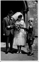 IMG_0045 Roy Spafford and Veda Wedding Scawby Parish Church of Saint Hybald's 20th June 1959 (photographer695) Tags: roy veda wedding scawby parish church saint hybalds spafford 20th june 1959